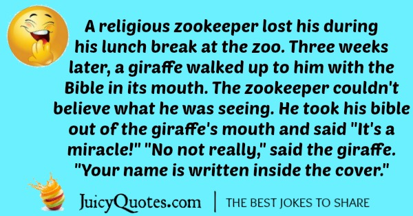really funny giraffe joke