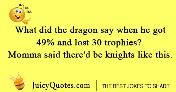 CoC Dragon Joke