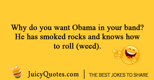 Obama Smoking Joke