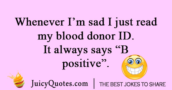 Stupid blood joke