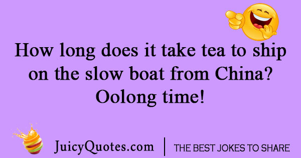 Shipping tea joke