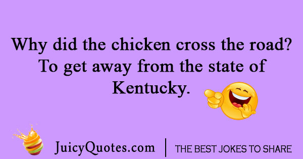 Kentucky cross the road joke