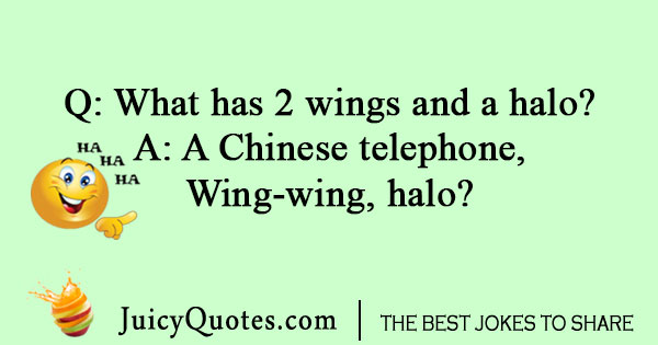 Chinese telephone joke