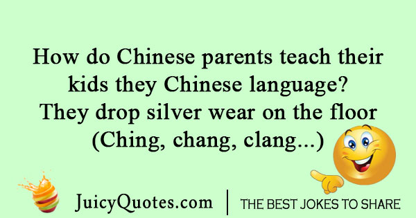 Chinese language joke