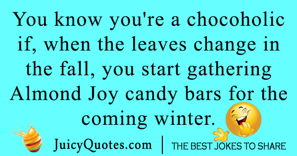 Joy candy bar joke