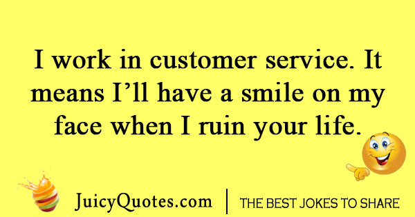Funny Customer Service Joke