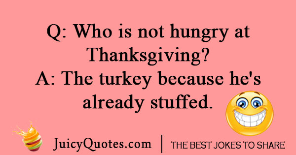 Silly Thanksgiving joke