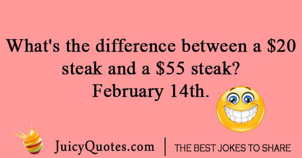Valentines Day steak joke - (With Picture)