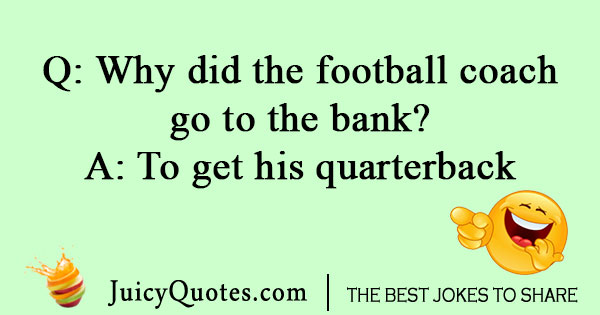 Silly football joke