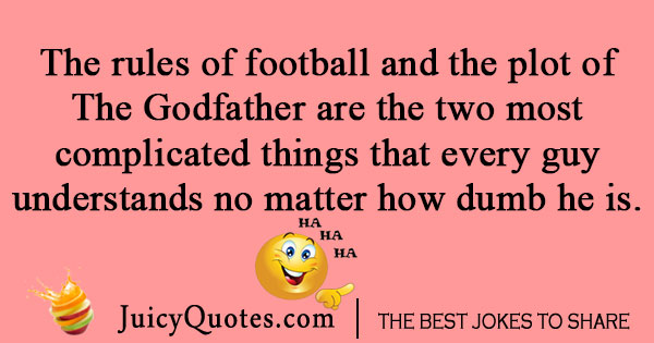 Football rules joke