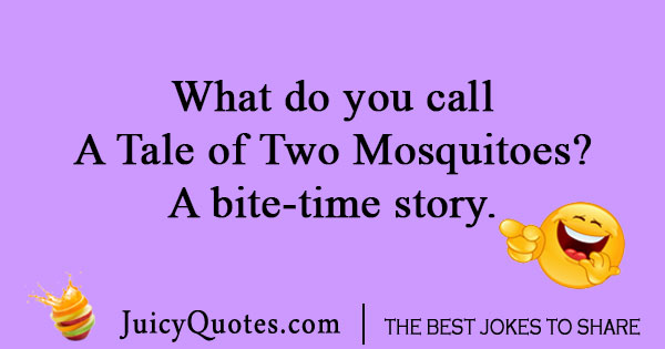 Insect Joke about a mosquito