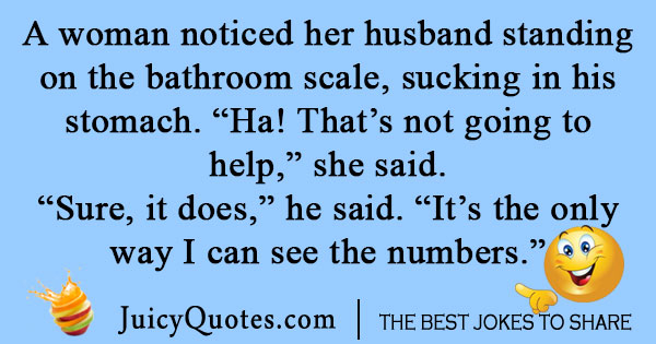 Life joke about marriage