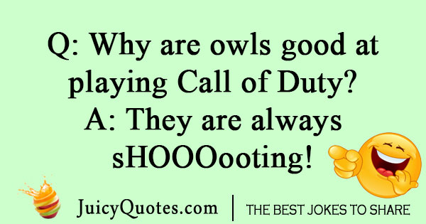 Call of Duty owl joke