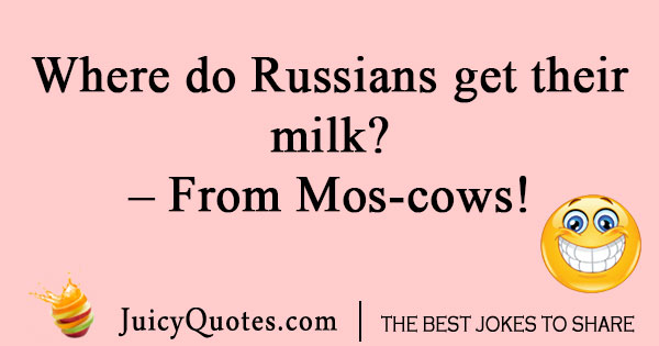Russian Cow Joke