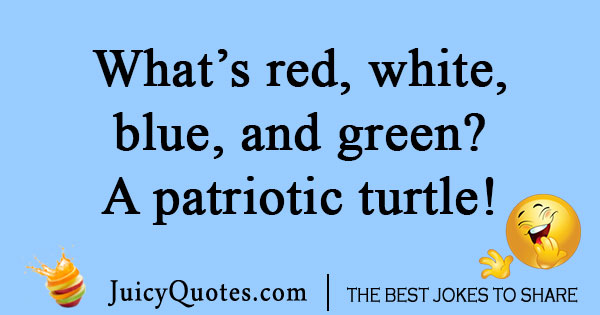 Patriotic Fourth of July joke