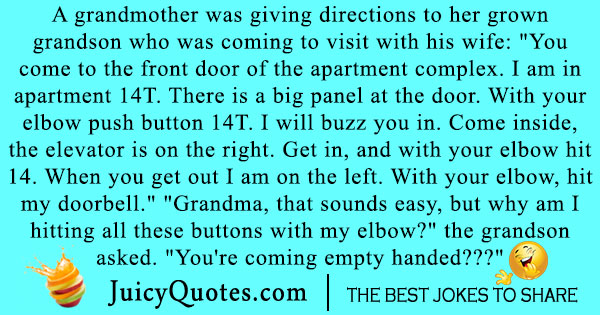 Funniest Grandparents Joke