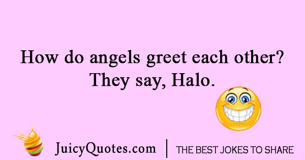 Angels in heaven joke