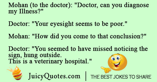 Veterinary hospital joke