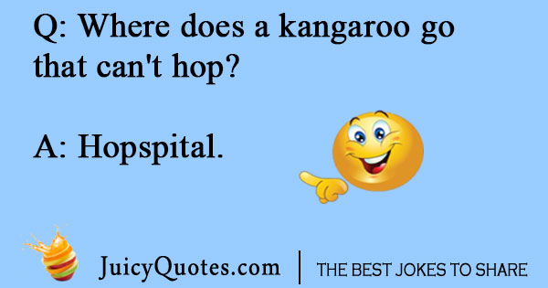 Silly hospital joke