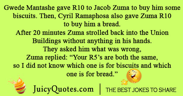 Funny Jacob Zuma Joke