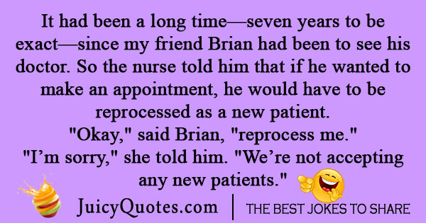 Medical Patient Joke