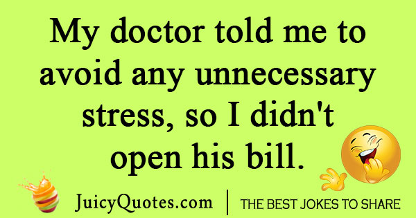 Medical Bill Joke