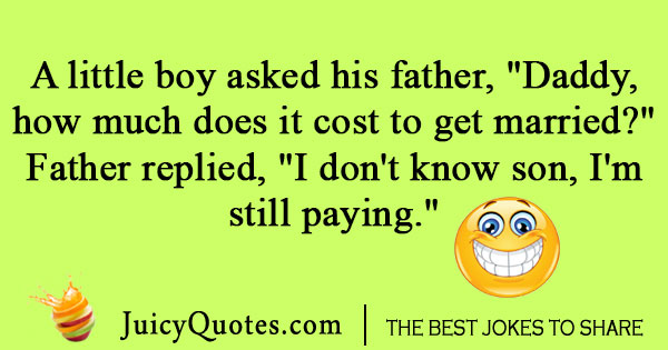 Marriage And Money Joke With Picture