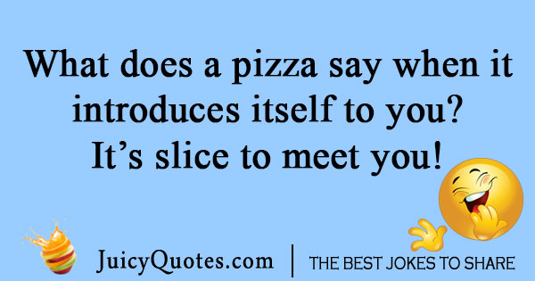 Pizza slice joke