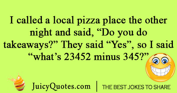 Math pizza joke