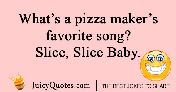 Pizza song joke