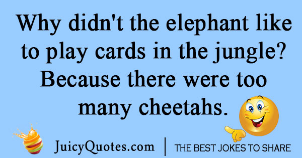 Animal Poker Joke