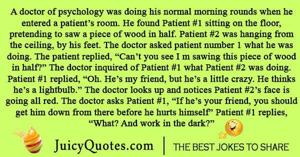 Doctor of Psychology Joke