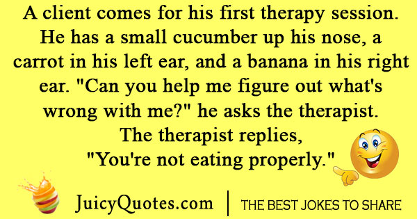 Psychology Therapy Joke