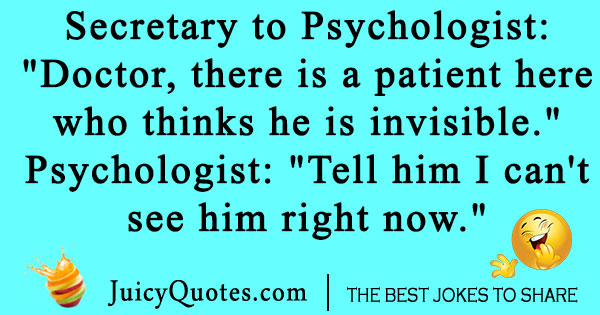 Psychology Patient Joke