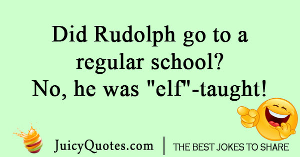 Reindeer school joke