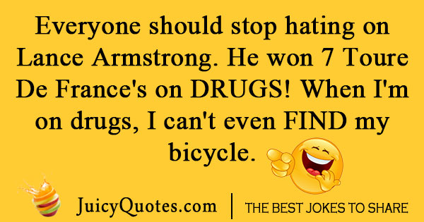 Bicycle Sport Joke