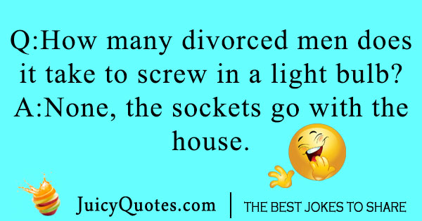 Men Divorce Joke