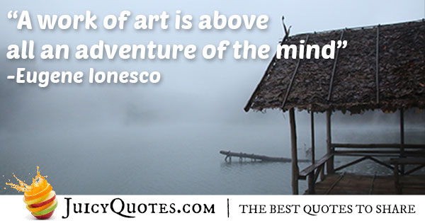Adventure Of The Mind Quote