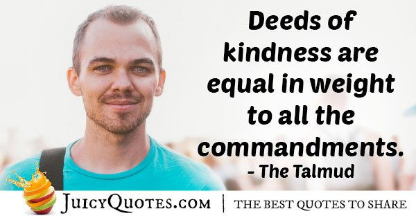 Kindness Deeds Quote