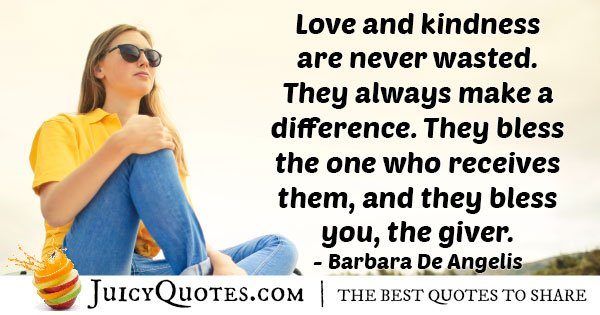Love and Kindness Quote