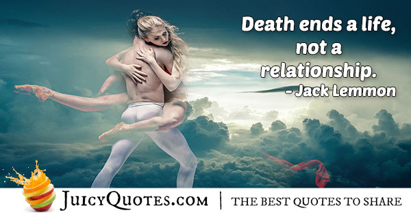 Afterlife Relationships Quote