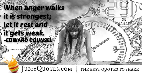 Strong Anger Quote