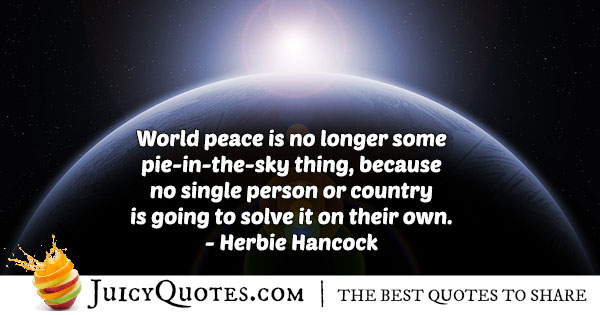Quote About World Peace