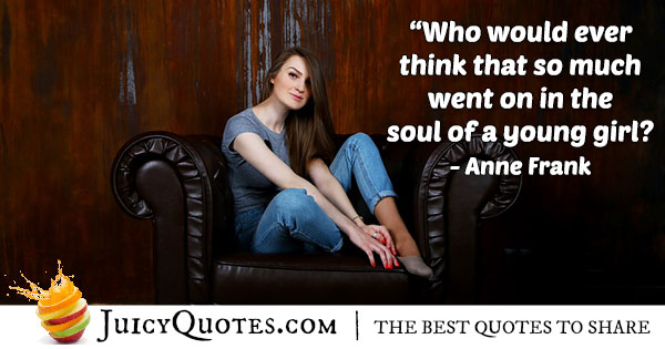Young Girl Youth Quote