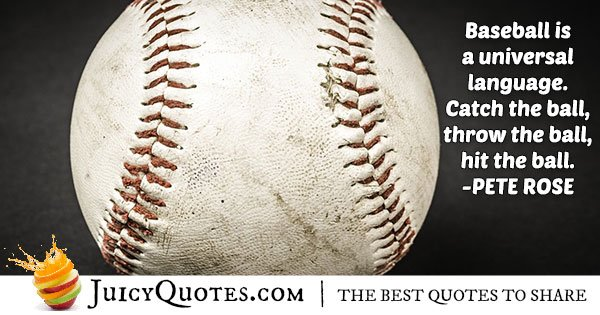Awesome Baseball Quote