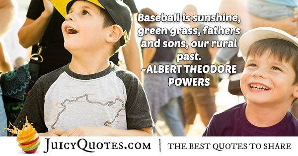 Baseball Is Awesome Quote