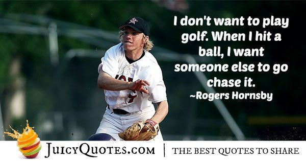 Throwing Baseball Quote