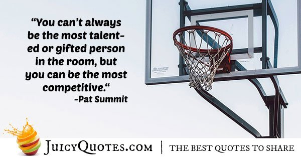 Competitive Basketball Quote