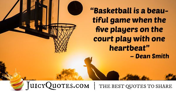 Basketball Quotes Best Basketball Is Beautiful Quote With Picture