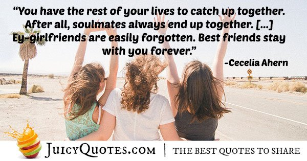 Best Friends Stay Together Quote